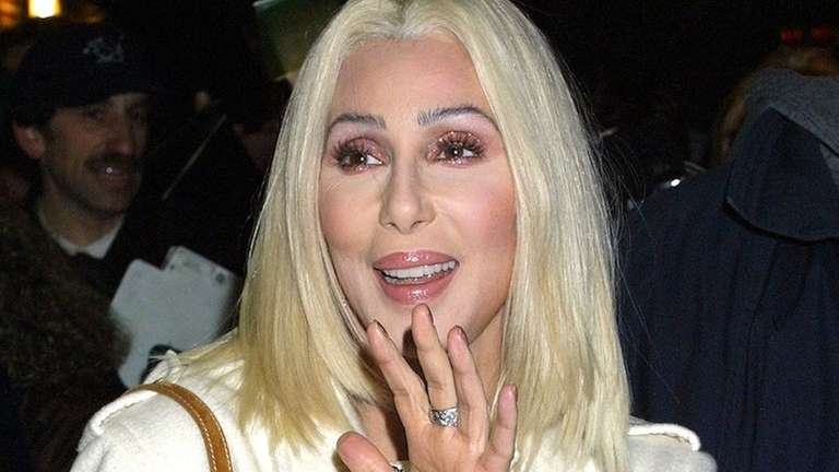 Cher leaves the Ed Sullivan Theater after an