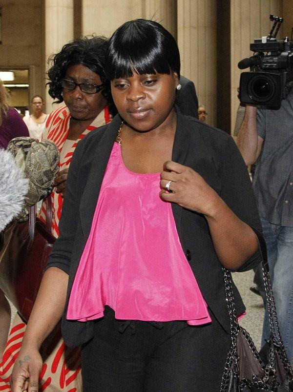 Annika McKenzie appears at Nassau County Court in