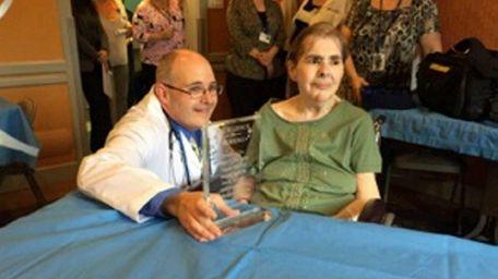 Daniel McCarthy, left, a registered nurse at Daleview