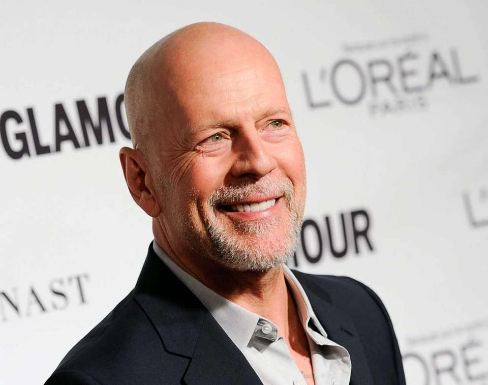Apparently, he's always been high-energy: Bruce Willis was