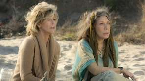 """Jane Fonda and Lily Tomlin in """"Grace and"""