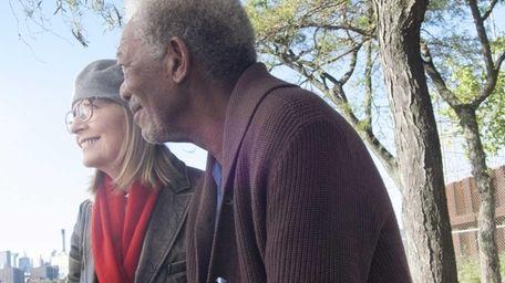 Diane Keaton and Morgan Freeman play a couple