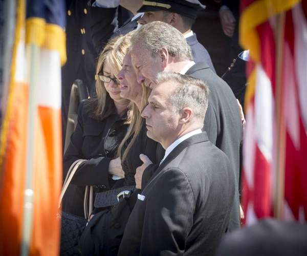 The family of NYPD Officer Brian Moore as