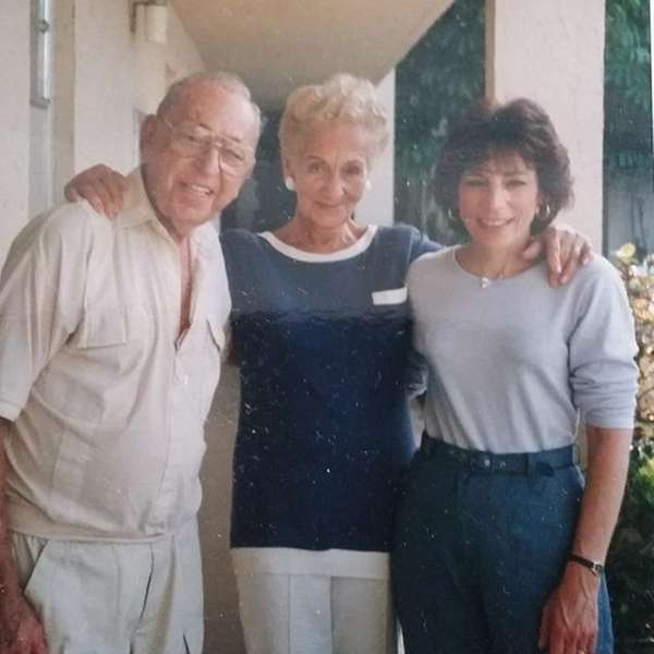 Anne and Fred Lefkof with daughter Phyllis Lefkof