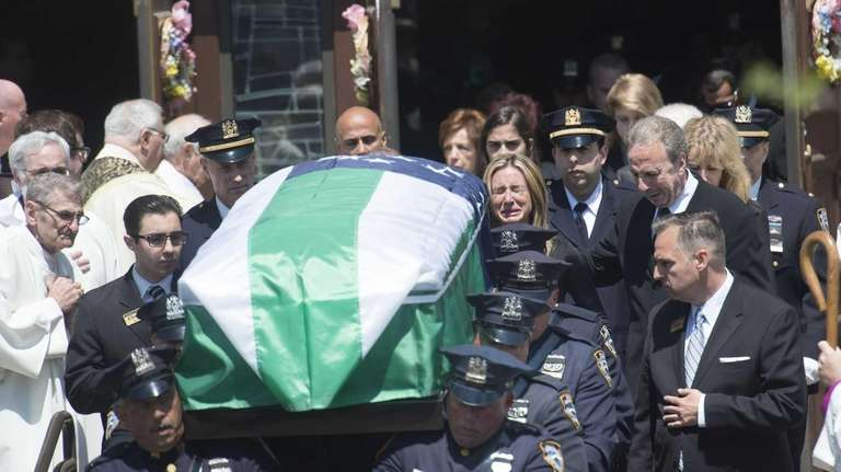 The family of fallen NYPD Officer Brian Moore