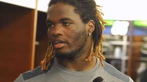 New York Jets LB Lorenzo Mauldin, the team's