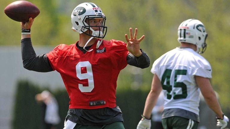 New York Jets quarterback Bryce Petty, the team's