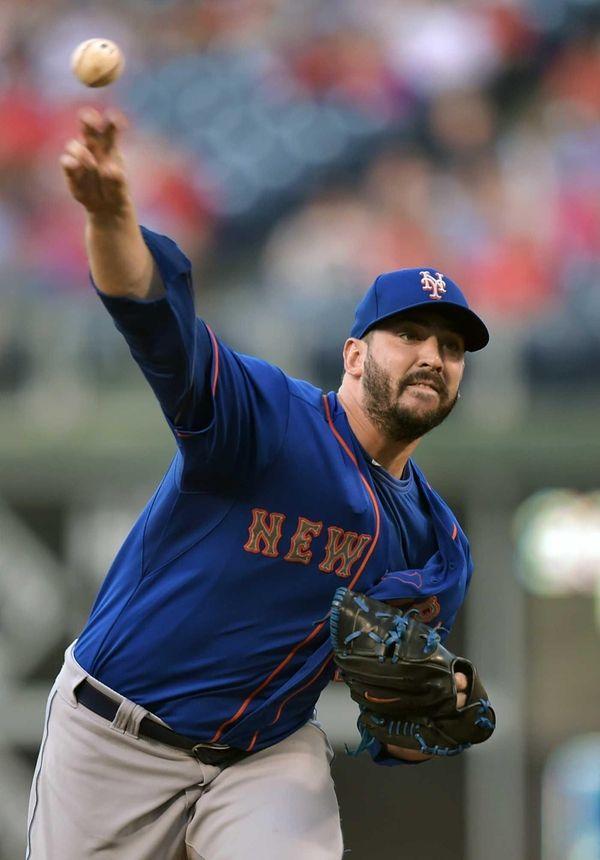 Starting pitcher Matt Harvey of the New York
