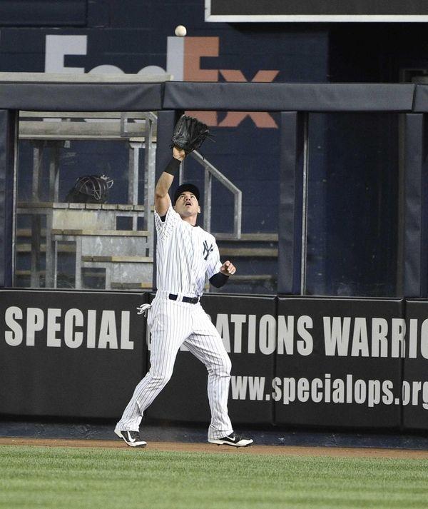 New York Yankees centerfielder Jacoby Ellsbury makes the