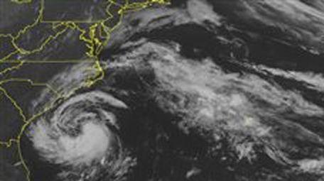 This NOAA satellite image taken Friday, May 8,