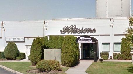 Illusions Gentleman's Club in Deer Park is shown