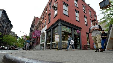 The SoHo corner in Manhattan from which Etan
