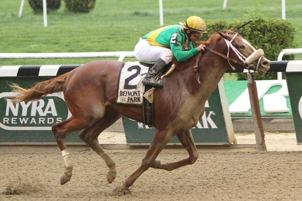 Madefromlucky, with Javier Castellano, wins the 61st running