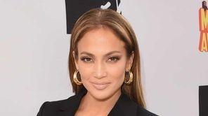 Actress/singer Jennifer Lopez, winner of Best Scared-As-S**t Performance
