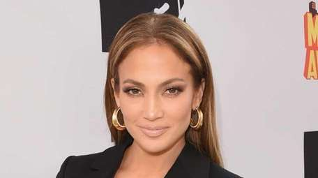 Actress/singer Jennifer Lopez, winner of Best Scared-As-S**t Performance