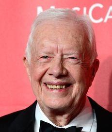 Jimmy Carter cut short a trip to Guyana
