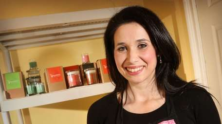 Anne Marie Esposito started her candle-making business four