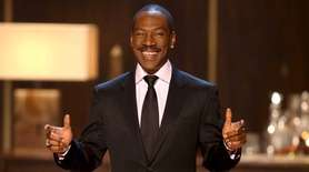 Always the charmer, Eddie Murphy was voted Most