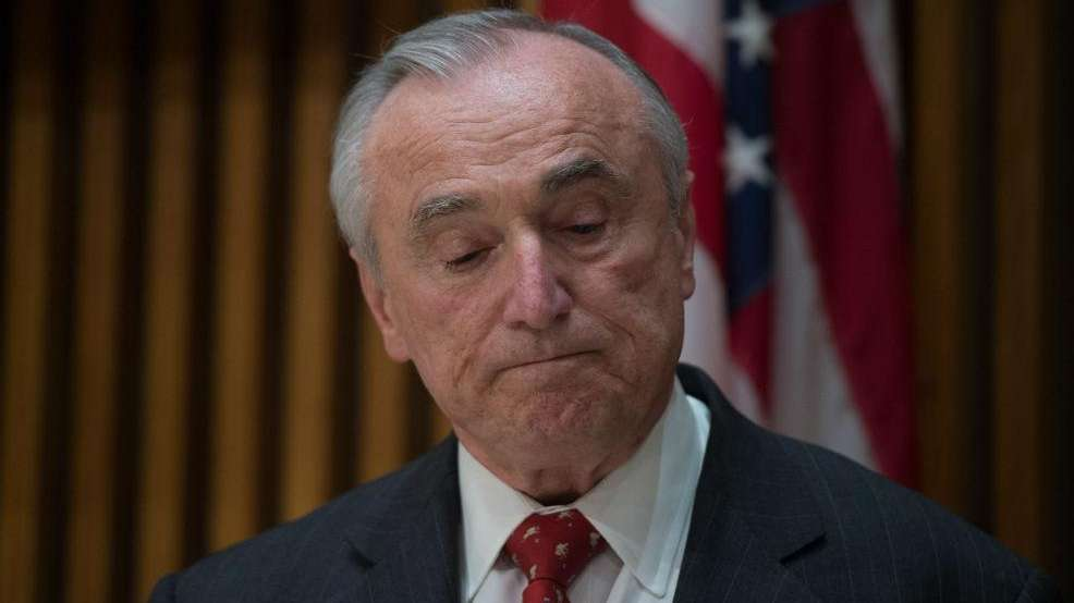 NYPD Commissioner William Bratton delivers an update on