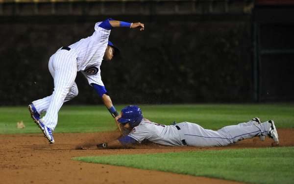 CHICAGO, IL - MAY 11: Juan Lagares #12