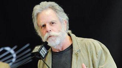 Grateful Dead guitarist Bob Weir speaks at the