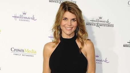 Lori Loughlin arrives at Hallmark Channel & Hallmark