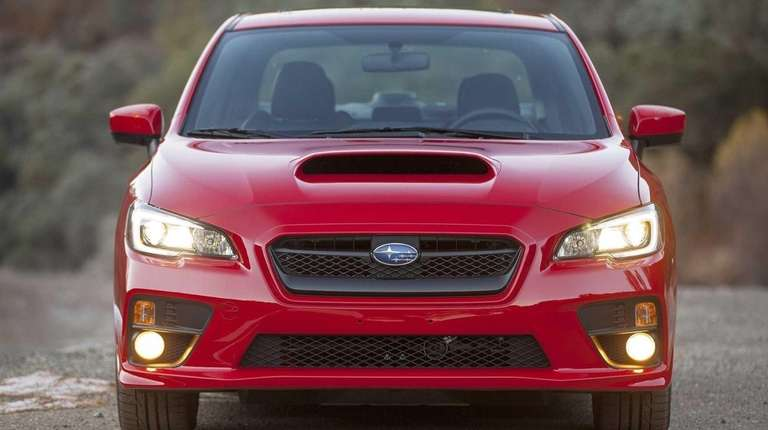 The 2015 Subaru WRX is one of the