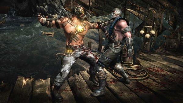 Screengrab from the video game Mortal Kombat X