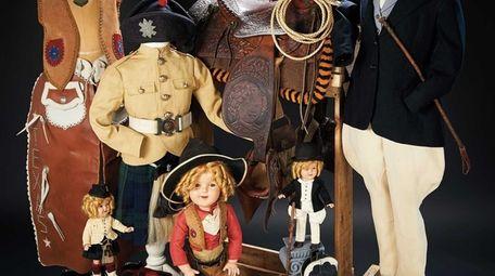 Hundreds of items of Shirley Temple memorabilia, including