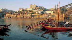 Visitors to Porto, Portugal, can take river excursions