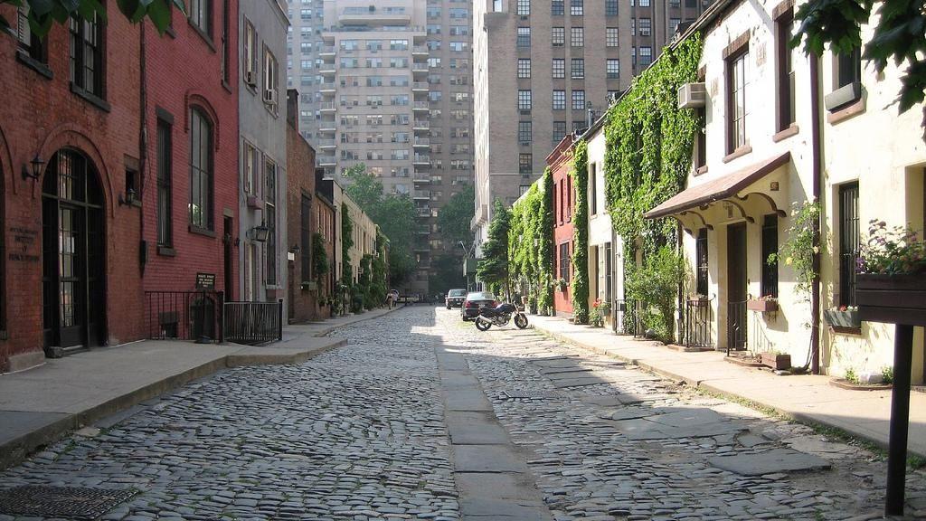 Near NYU's main Washington Square location, running between