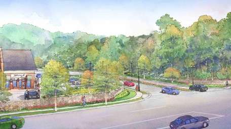 An artist's rendering of Country Pointe Plainview, proposed