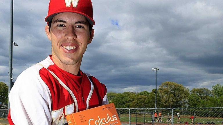 Half Hollow Hills West baseball player Josh Wende