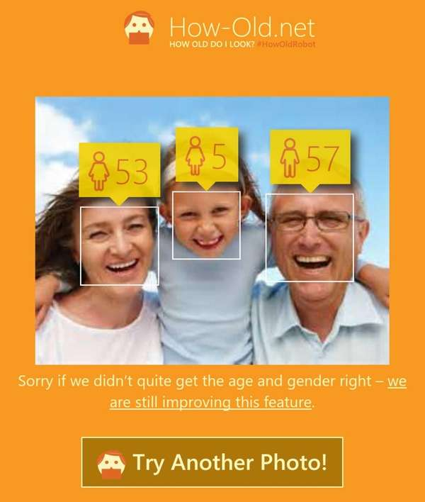 How Old Do I Look?, developed by technology