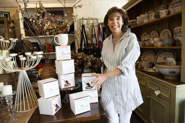 Sharon Tracy, co-founder of Port Washington-based A Sprinkle