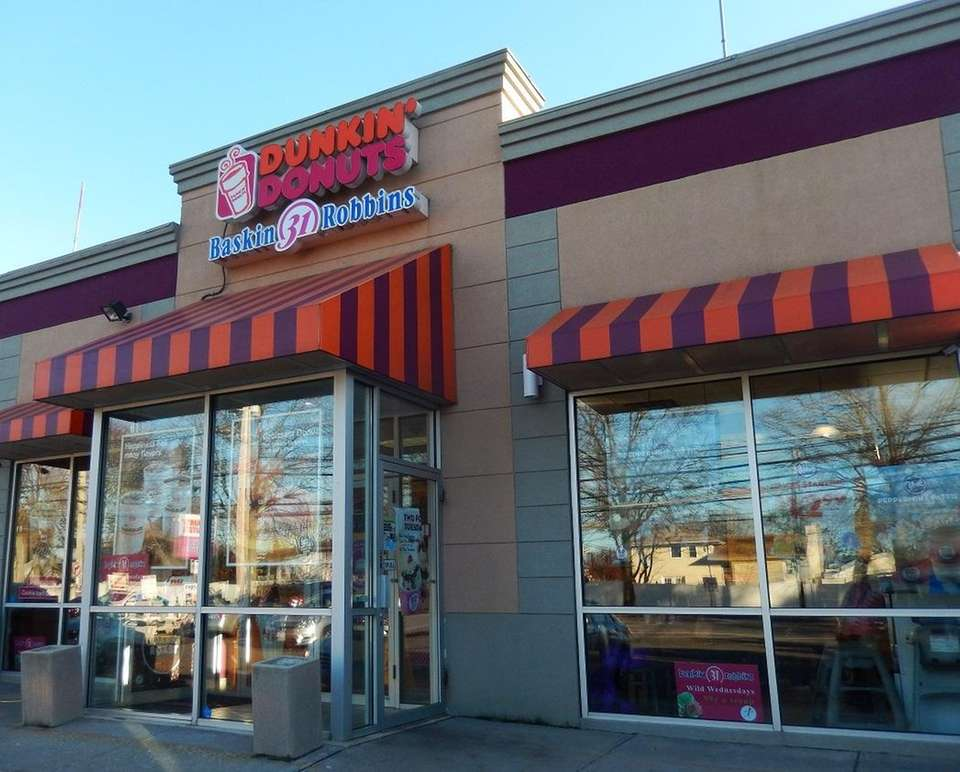 The Dunkin' Donuts in Plainview is one of
