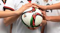 The official ball for the FIFA 2015 Women's