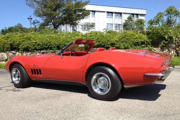 This 1969 Chevrolet Corvette owned by Chris Mazzilli