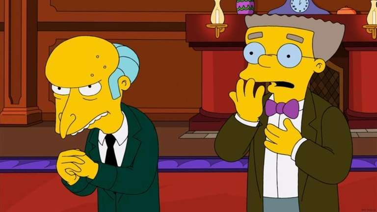This image released by Fox shows Mr. Burns,