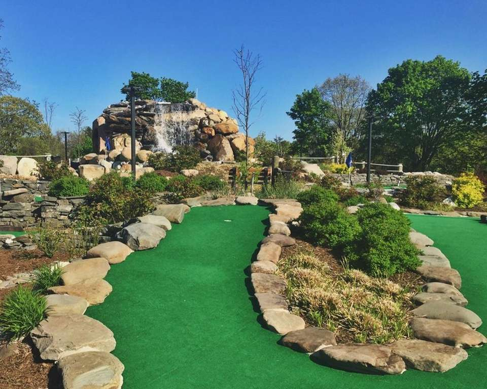 30 Hanson Place, Sayville, 631-218-6952, sayvillefallsminigolf.com Hours April-Nov.,