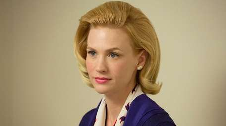January Jones as Betty Francis in Mad Men,