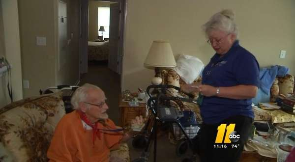 Clarence Blackmon, an 81-year-old cancer patient, called 911