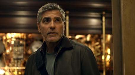 Frank (George Clooney) in Disney's