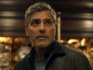 "Frank (George Clooney) in Disney's ""Tomorrowland."""