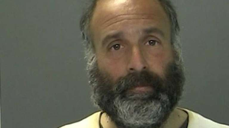 Robert Pearlman, 39, who is homeless, was arrested