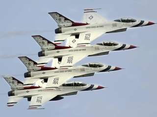 The Bethpage Air Show at Jones Beach runs