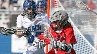 South Side's Dylan Crossan tries to get in