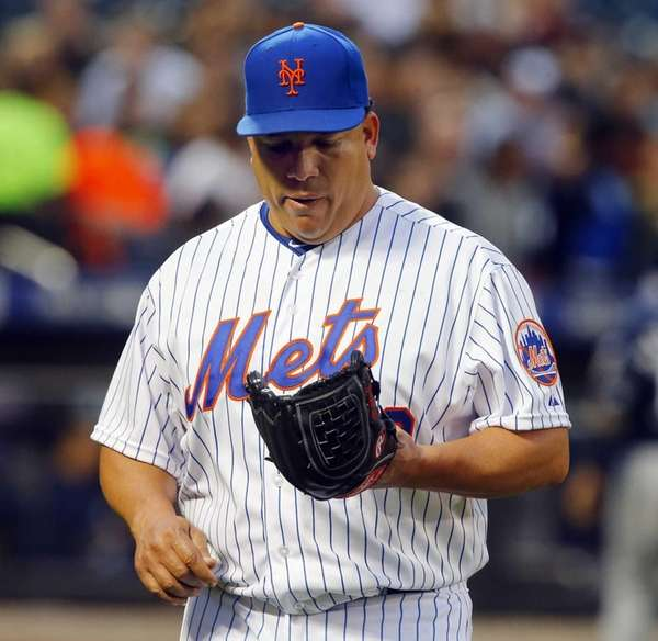 Bartolo Colon #40 of the New York Mets