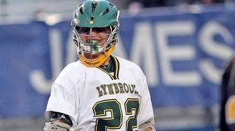 Lynbrook's Zach LoCicero enjoys his goal during a