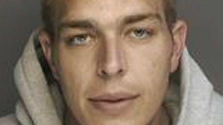 Peter Gevinski Jr., 26, of Aquebogue, was arrested